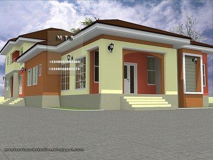 Bungalow Designs In Nigeria 3 Bedroom Bungalow House Plans In Nigeria Bungalow House Plans Bungalow Design Minimalist House Design