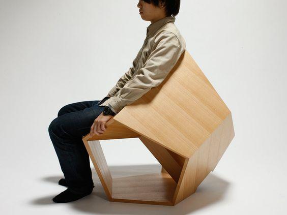 hiroaki suzuki: dodecahedronic chair