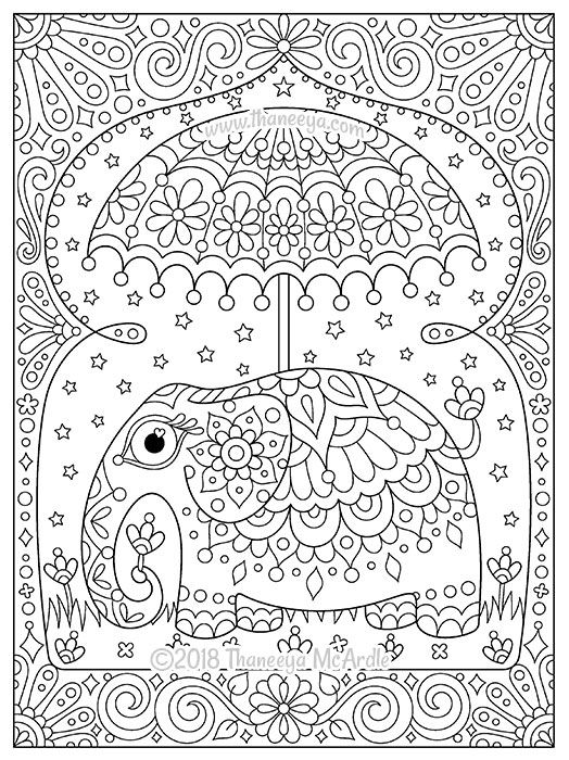 Free Coloring Pages — Thaneeya.com | 700x524
