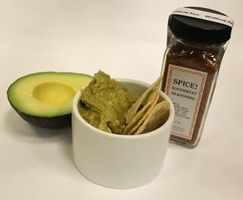 Easy Peasy Guacamole. Stir our Organic Southwest Seasoning into a mashed avocado.  Available at www.willowtea.net