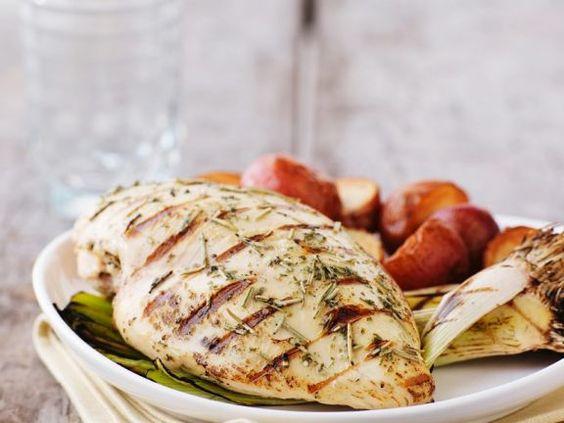 Hähnchenbrust vom Grill ist ein Rezept mit frischen Zutaten aus der Kategorie Hähnchen. Probieren Sie dieses und weitere Rezepte von EAT SMARTER!