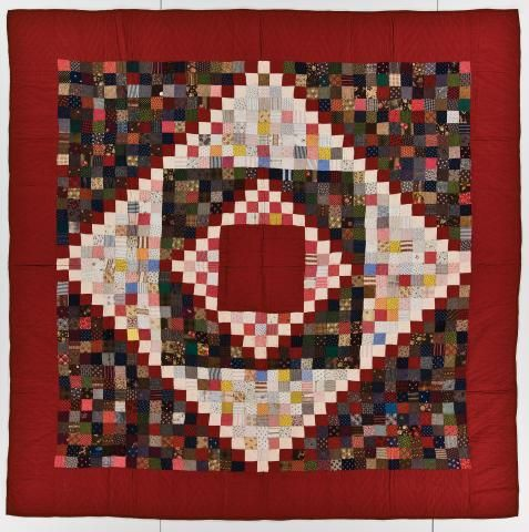 Quiltmakermaker Unknowngeographical Originpossibly Made In Pennsylvania United Statesprimary Techniquepieced Machine Antique Quilts Quilts Postage Stamp Quilt