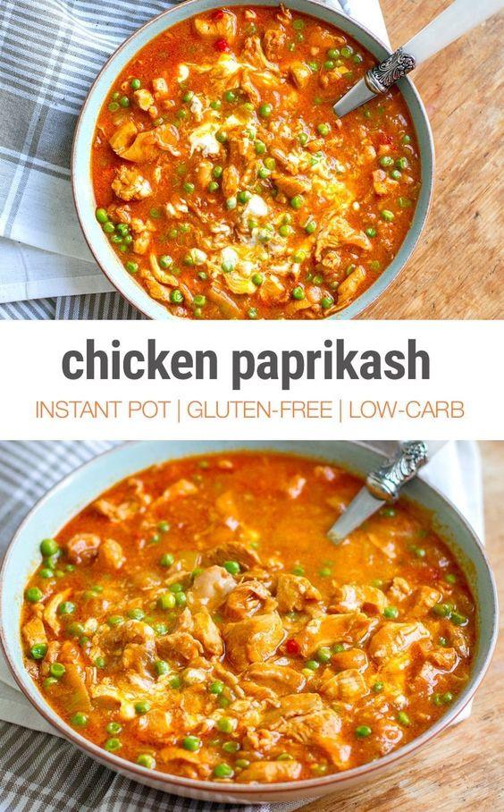 Instant Pot Chicken Paprikash (a.k.a. Paprikás Csirke) | Instant Pot Eats