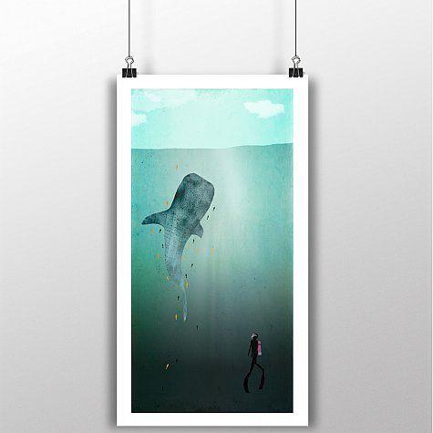 Poster Jack 75 x 38 cms