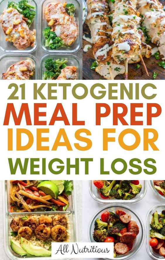21 Delicious Keto Meal Prep Ideas for Busy Days - All Nutritious