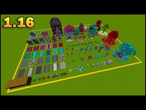 Minecraft 1 16 Build Ideas Build Hacks Tip Tricks Nether Update Youtube In 2021 Portal Design Minecraft Designs Minecraft