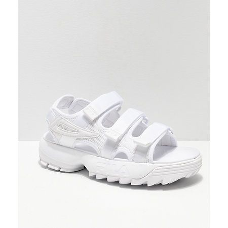 platform sandals fila