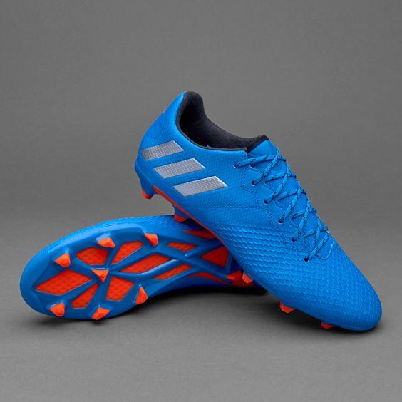 adidas Messi 16.3 FG/AG - Shock Blue/Matte Silver/Core Black