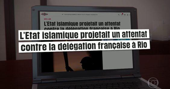 Brasileiro do EI planejou ataque na Rio 2016, diz deputado francês