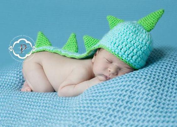 Babymütze Dino, Dinosaurier