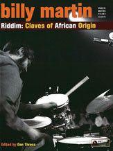 Billy Martin: Riddim---Claves of African Origin (Book & CD)