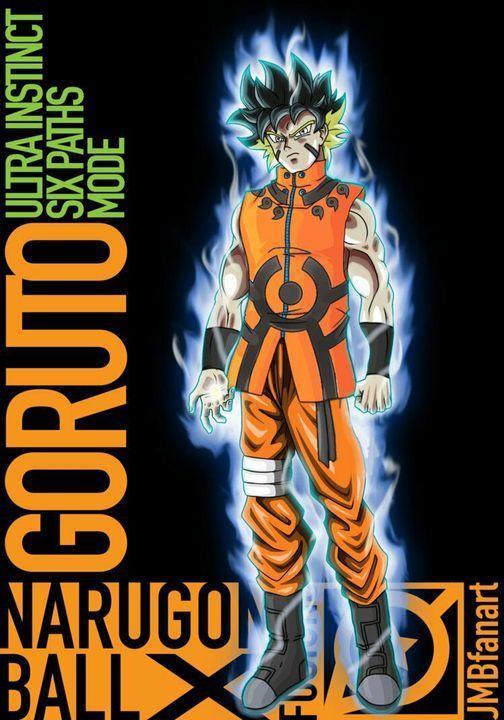 Dragon Ball And Naruto Fusions Goku And Naruto Fusion Dragon Ball Super Artwork Dragon Ball Super Manga Dragon Ball