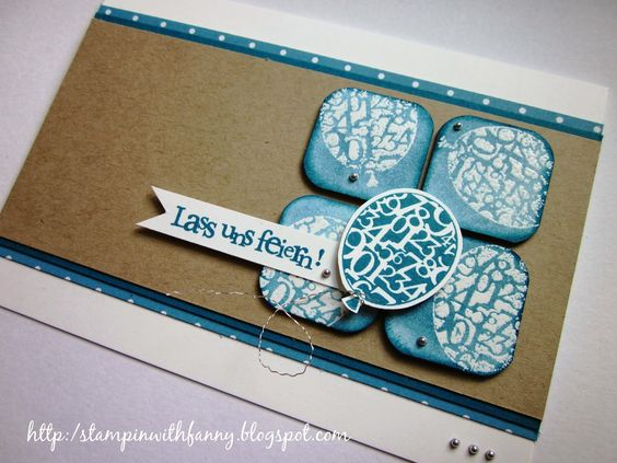 Birthday card featuring Stampin' Up! products #StampinUp