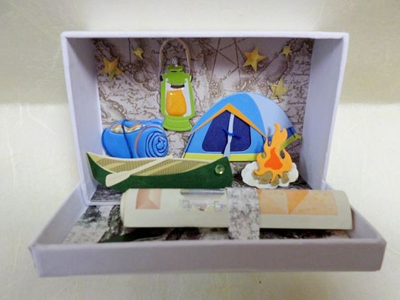Camping, Geld and Geschenke on Pinterest
