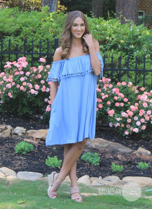 Daylight Dress in Chambray