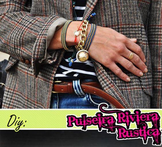 Do You Even (DIY): bracelet rustic riviera Chan Luu |