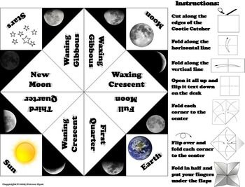 explore foldable moon phases foldable and more moon phases