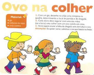 """"""" Cantinho do Educador Infantil """": BRINCADEIRAS PARA FESTA JUNINA:"""