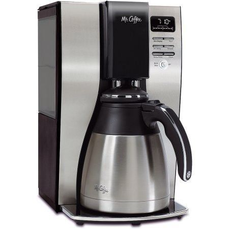 Mr. Coffee 10-Cup OptimalBrew Thermal Coffee Maker, BVMC-PSTX91-WM comes with removable water reservoir and 97% water filtration system