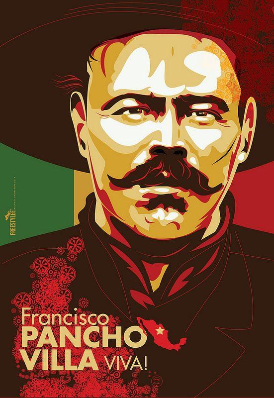 Pancho Villa Design By Freestylee Michael Thompson
