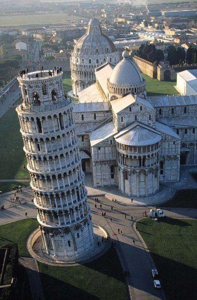 Torre de Pisa, Plaza del Duomo, Italia