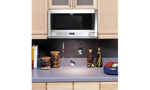Sharp R-1214 Over the Counter Microwave Oven