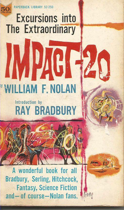 IMPACT-20 William F. Nolan Short Stories Vintage Paperback RARE