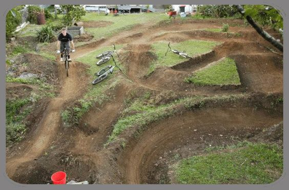 Bike Jump Plans   Vanier Park dirt jump park   Chris Keam ...