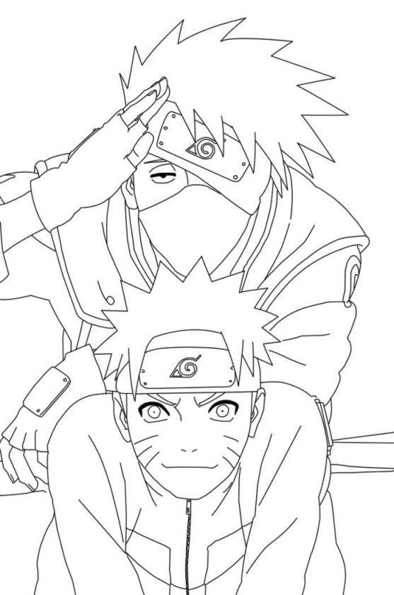 Naruto Shippuden Coloring Pages 90561 Desenhos Desenhos Para