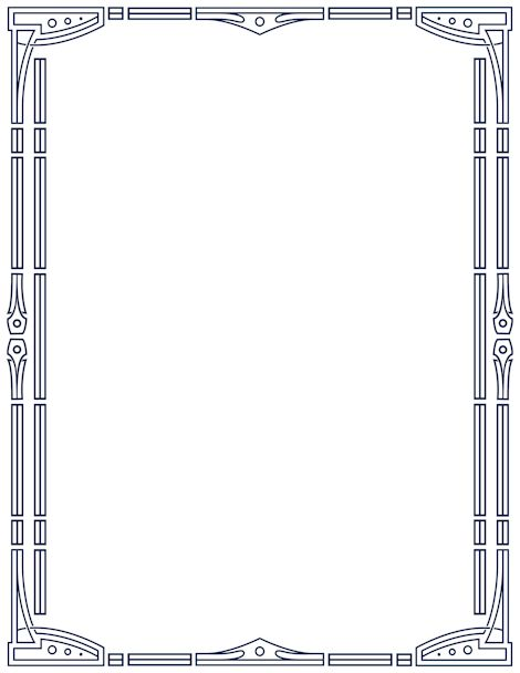 Art Deco Border CADRES Pinterest Art Deco Deco And