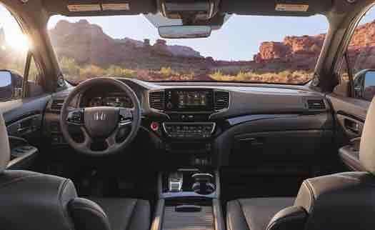 2020 Honda Passport Interior Car Us Release Honda Passport Honda Infotainment System
