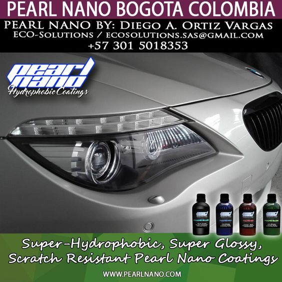 Pearl Nano Installer -  Diego A. Ortiz Vargas of ECO-Solutions in Bogota Colombia Done an amazing job on this BMW 650I. Contact them @ ecosolutions.sas@gmail.com or call +57 301 5018353.  For more info Visit @ PearlNano.com