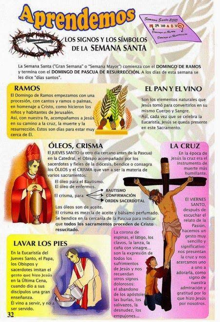 Reli Casas Nuevas + Dto. Religión + IES: Semana santa: signos y símbolos