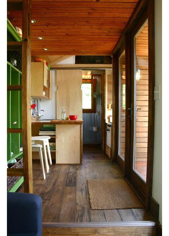 Modern Tiny House Inside rustic modern tiny house for tall people | idesignarch | interior