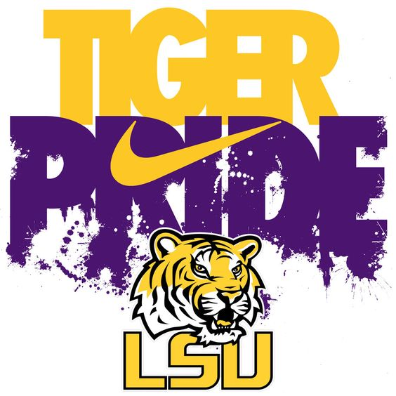 LSU Tiger Pride iPhone wallpaper: