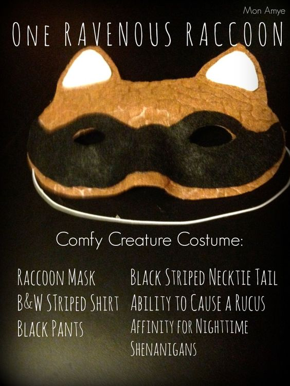 Comfy Creature Masks | Halloween DIY  | MonAmye.com