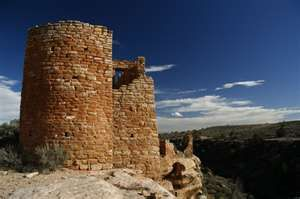 Hovenweep Castle at Hovenweep National Monument on the Colorado/Utah border.