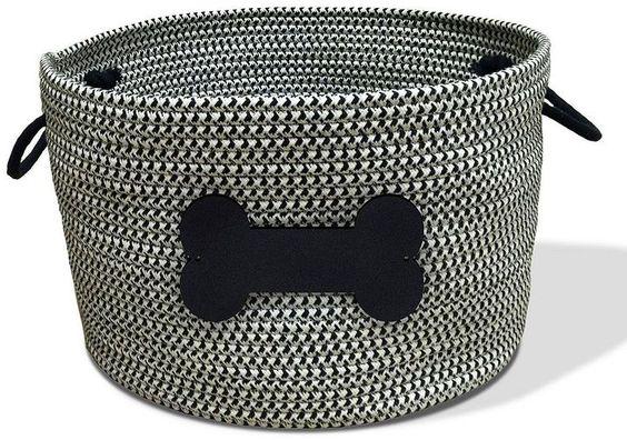 Bombay Rope Pet Toy Storage Basket