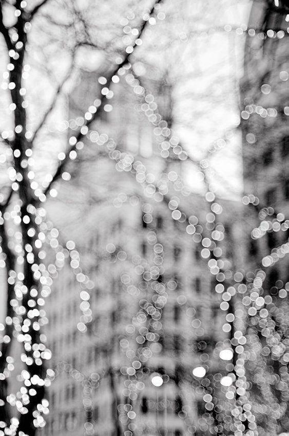 Urban Lights Photography City Winter Holiday
