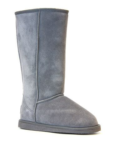 Loving this Gray Whistler Tall Suede Boot on #zulily! #zulilyfinds