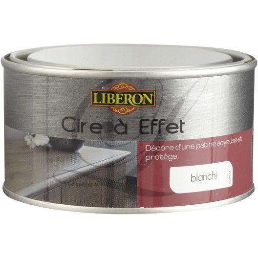 Cire A Effet Blanchi Liberon Peinture Argentee Cire