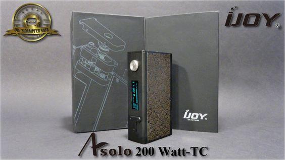Im heutigen Video möchte ich euch den neuen Box Mod Asolo von iJoy vorstellen. Dabei handelt es sich um eine recht kleine und leichte 200 Watt Box mit Temper...