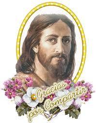Resultado de imagen para gracias con imagen de jesus