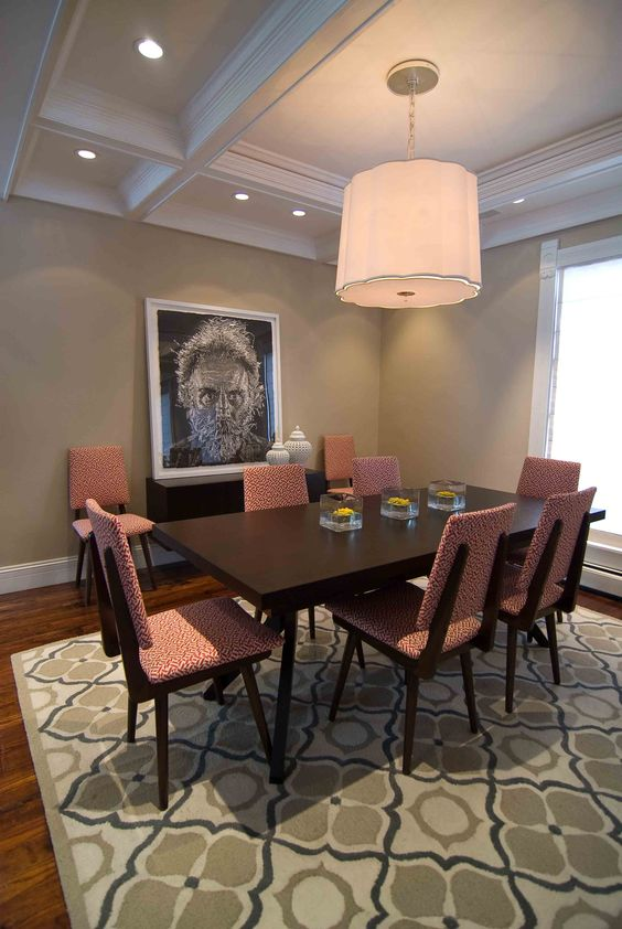 Rug Dining Room Extraordinary Design Review