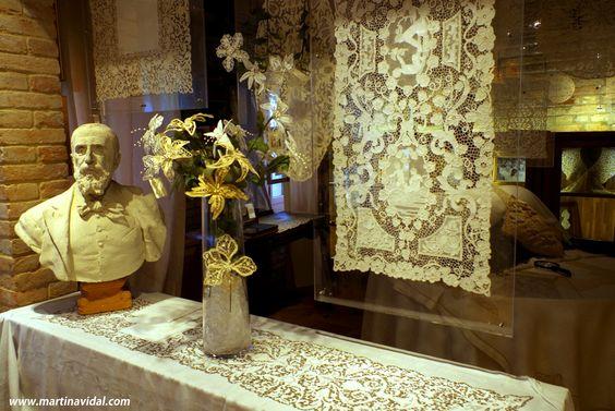 Collection Lace - Museum Atelier Martina Vidal Venice Burano: