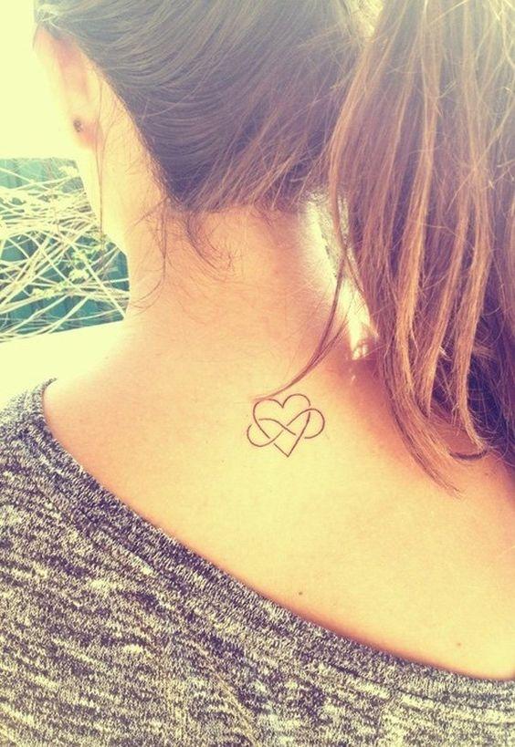 heart tattoo for girl - 55 Lovely Tattoos for Girls  <3 !