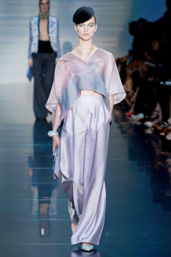 Armani Privé Fall 2012 Couture Collection
