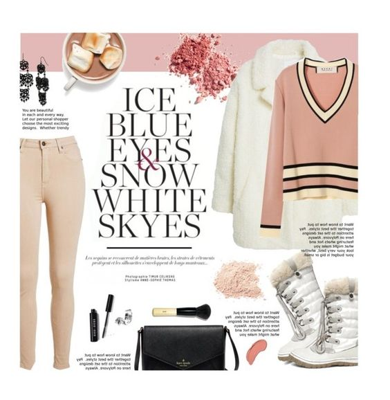 """Snow Bunny"" by federica-m ❤ liked on Polyvore featuring MANGO, Marni, Steve Madden, Betsey Johnson, Bobbi Brown Cosmetics, NYX and snowbunny"
