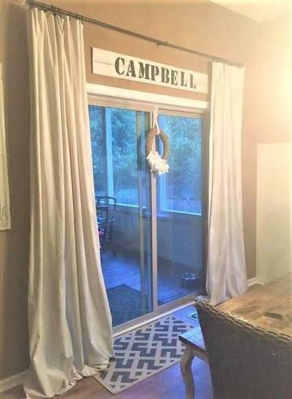 Glass Sliding Door Curtains Patio 27 Best Ideas Sliding Glass Door Window Door Coverings Sliding Door Curtains