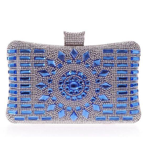Aliexpress.com: Comprar 2016 nuevo bolso de la señora cristal de plata diamante bolsos de tarde de oro de calidad bolso de embrague elegante del bolso del partido nupcial de la boda XA84L de bolsa de cumpleaños fiable proveedores en Youth Industry Trade Limited